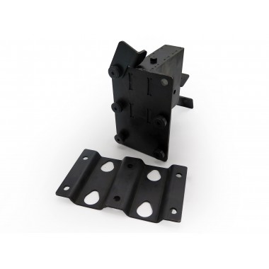 CLAMPING PLATE FOR ELEVABLE BRAKE