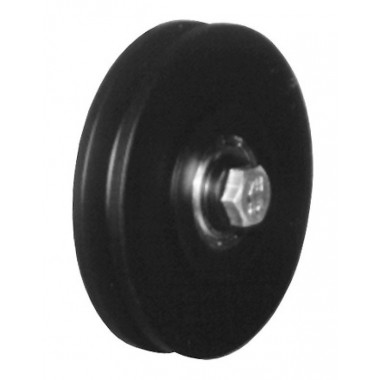 BLACK SHEAVE FOR WIRE ROPE DIAM. 9MM