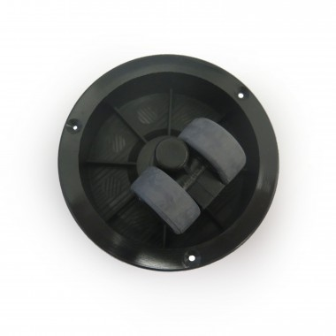 DOUBLE WHEEL FOR CABINET 30MM