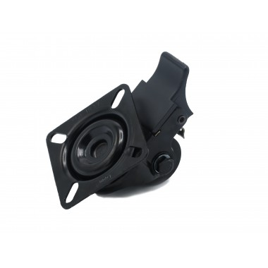 BLACK WHEEL SWIVEL HOUSING OF 33 MM