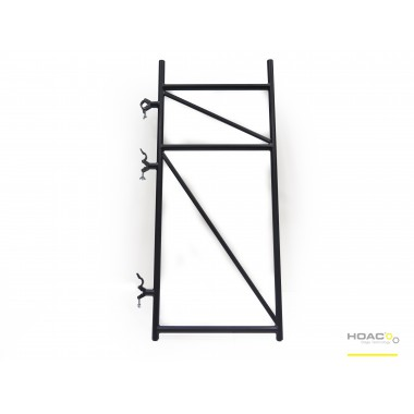 "BLACK ""V"" FRAME FOR GRANDSTANDS"