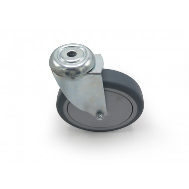 GREY INDUSTRIAL WHEEL OF 150MM WITH HOUSING