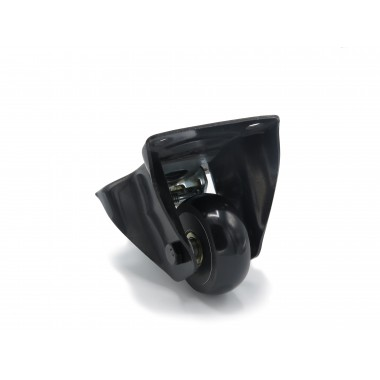 BLACK WHEEL FIXED HOUSING OF 80 MM