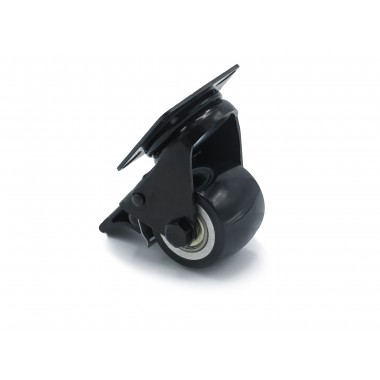 BLACK WHEEL SWIVEL HOUSING OF 50 MM