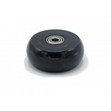 BLACK WHEEL OF 100 MM