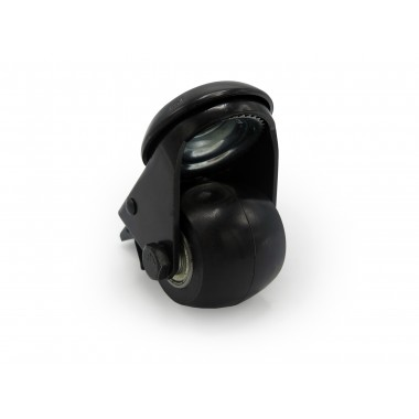 BLACK WHEEL SWIVEL HOUSING WITH  BRAKE OF 50MM