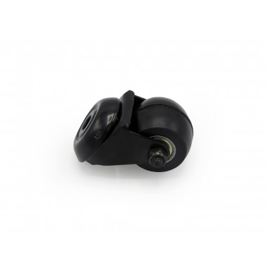 BLACK WHEEL SWIVEL HOUSING OF 50MM